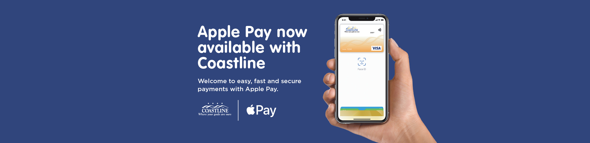 Apple Pay now available with Coastline