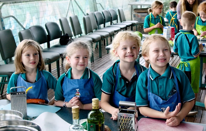 Full steam ahead aboard Aldavilla Primary School's Kitchen Train