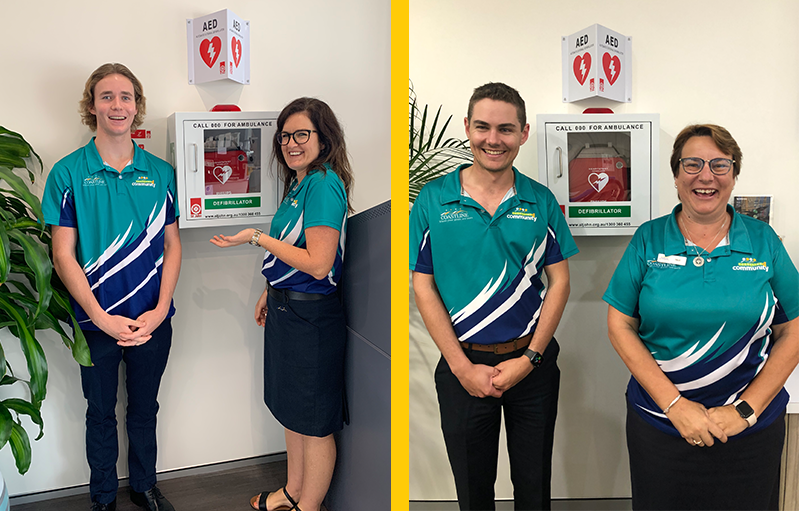 Coastline installs defibrillators in its West Kempsey, Central Kempsey and South West Rocks locations
